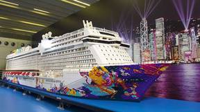 Watch: World's Largest LEGO Ship Constructed