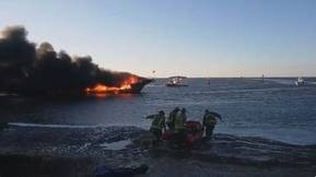 Casino Boat Catches Fire off Florida Coast, 15 Injured
