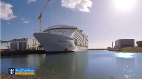 Symphony of the Seas, the world's largest cruise ship will set sail from Barcelona