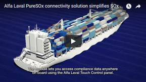 Alfa Laval PureSOx connectivity solution simplifies SOx compliance