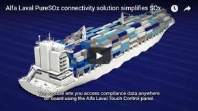 Alfa Laval PureSOx connectivity solution simplifies SOx compliance