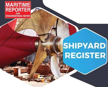 August Maritime Reporter Shipyard Registry