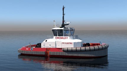 Crowley Will Build and Operate the First Fully Electric U.S. Tugboat