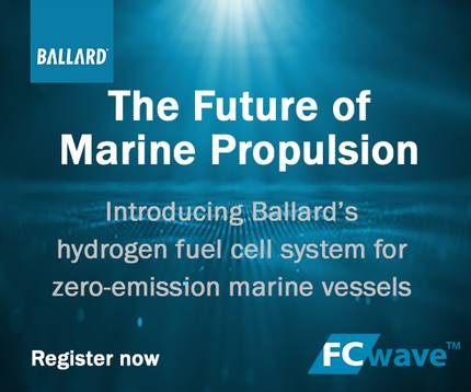 Have you signed up for the virtual launch of the next wave in zero-emission technology for the marine industry?